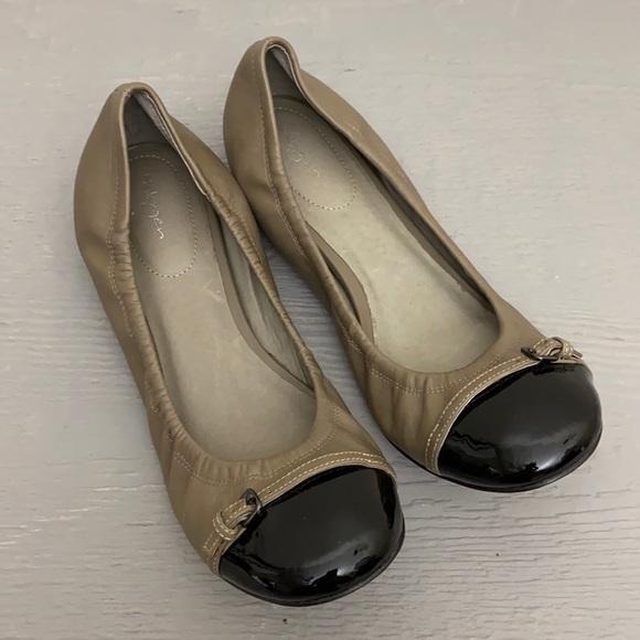 Halogen Cap Toe Ballet Flats